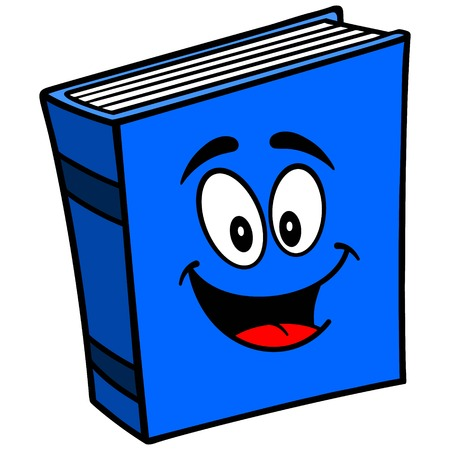 information medium: Blue Book Mascot