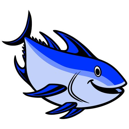 atun rojo: El at�n de aleta azul del salto