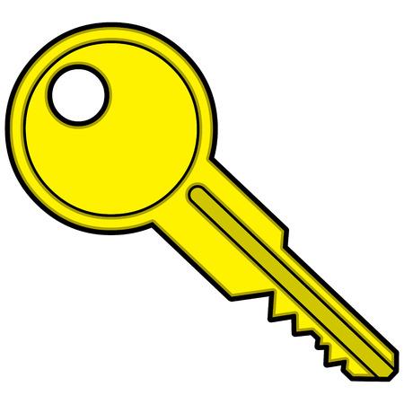 Boat Key Ilustração