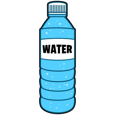 Bottiglia d'acqua Archivio Fotografico - 57278803