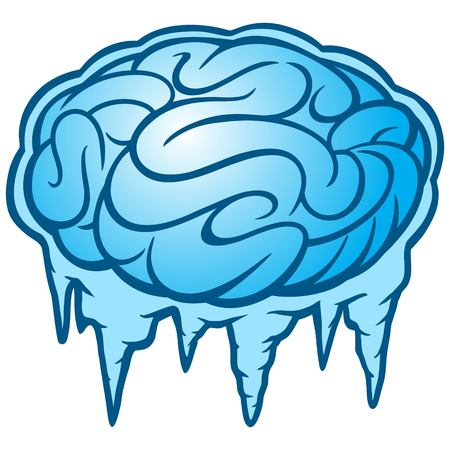 icy conditions: Brain Freeze