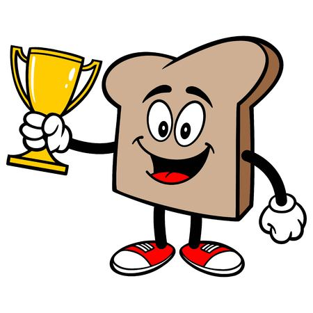 Bread Slice with a Trophy