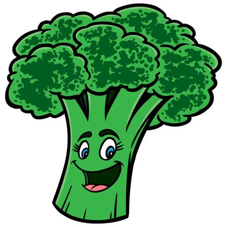 Broccoli Cartoon Çizim