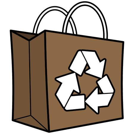 Brown Recycle Bag