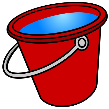 Bucket of Water 免版税图像 - 57291286