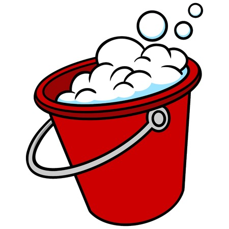 bucket: Bucket with Soap