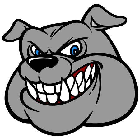displeased: Bulldog Head