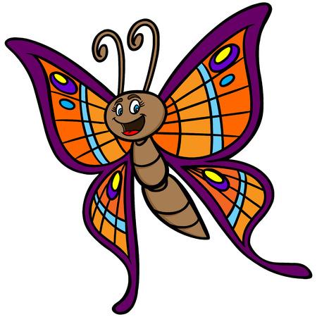 cartoon: Butterfly Cartoon