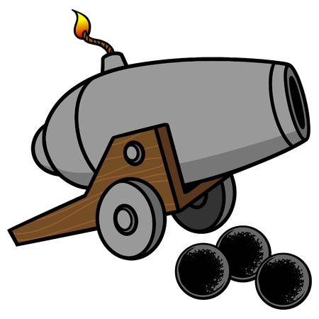 a cannon: Cannon Illustration