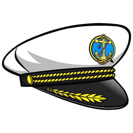cockade: Captain Hat Illustration