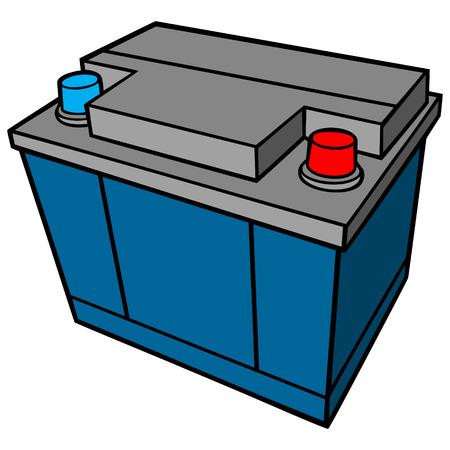 alternating current: Car Battery