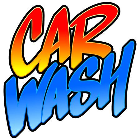 wash: Car Wash Illustration
