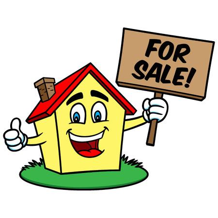 Cartoon Haus zum Verkauf