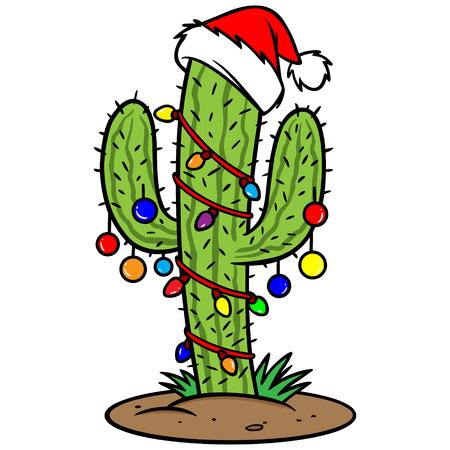 Cactus de Navidad  Foto de archivo - 57291599