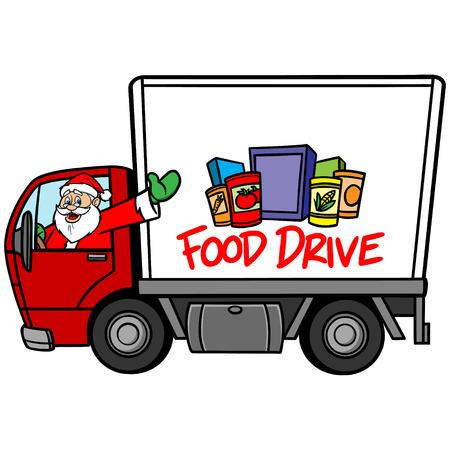 クリスマス フード ドライブ