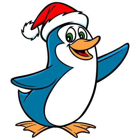 Pingüino de Navidad