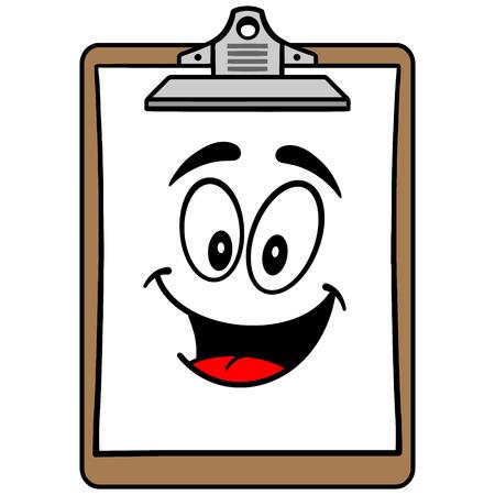Clipboard Mascot