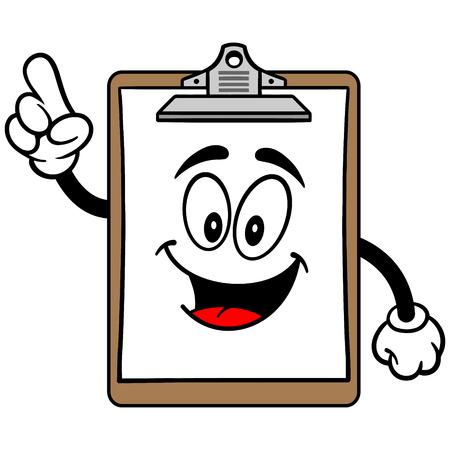 Clipboard Mascot Talking