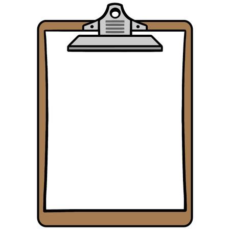 Clipboard Symbol Ilustracja
