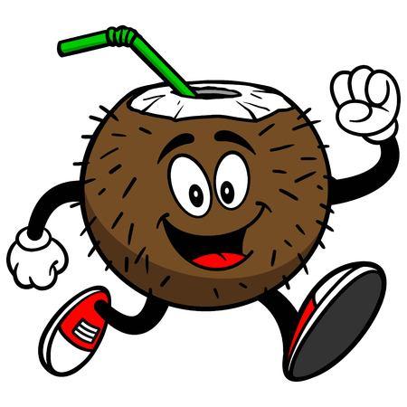 coconut drink: Coconut Drink Running
