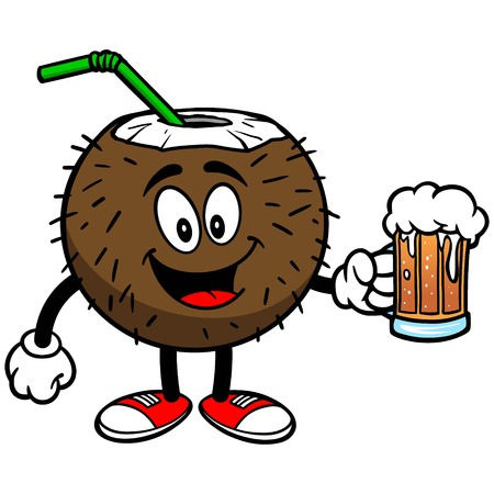 Coconut Drink with Beer