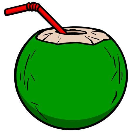 coconut water: Coconut Water Icon