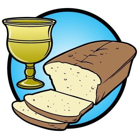 supper: Communion Icon