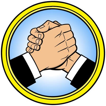 Cool Handshake Icon