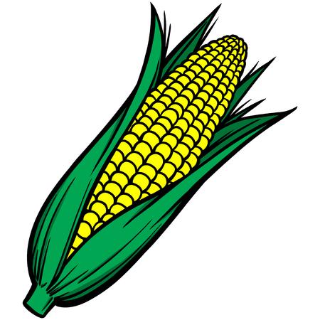 Corn on the Cob Ilustração