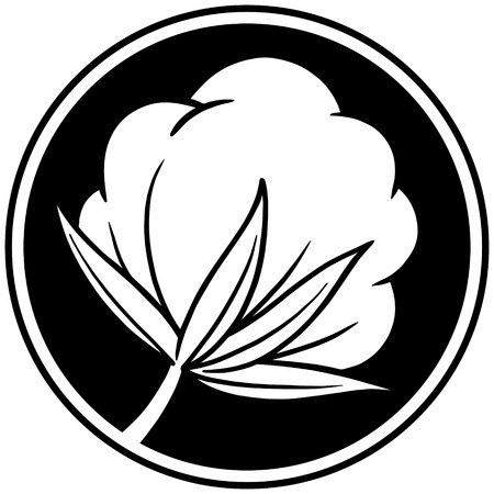 Cotton Icon Ilustração