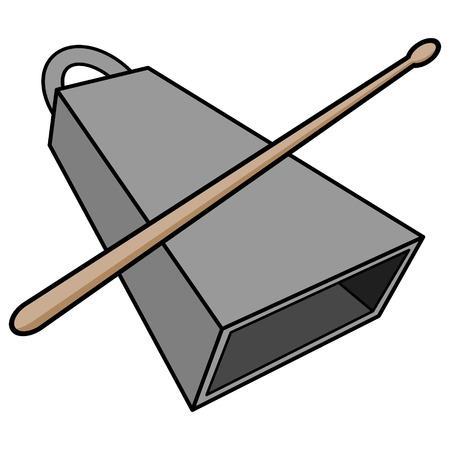 Cowbell and Drumstick