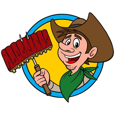 spare ribs: Cowboy BBQ