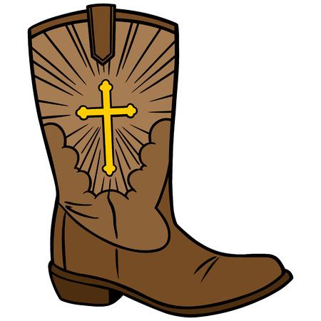 catholicism: Cowboy Church Icon