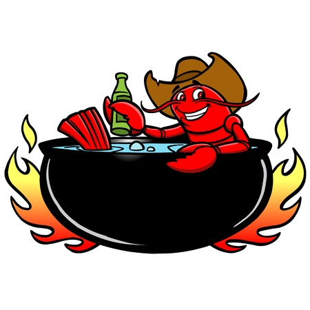 Crawfish Boil Stock Vector - 57316728