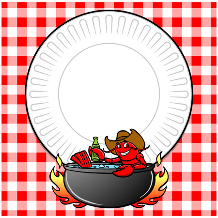 De rivierkreeften koken uitnodigen
