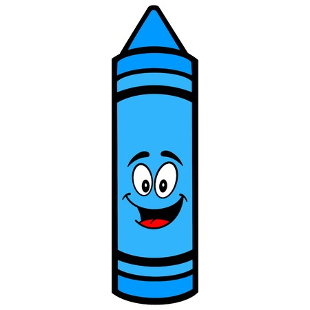 crayon Mascot