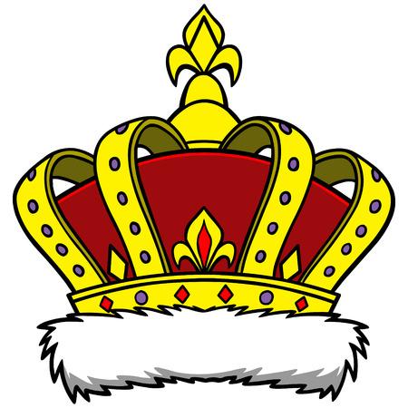 high society: Crown Illustration