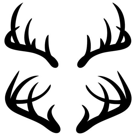 Deer Corni Archivio Fotografico - 57317481