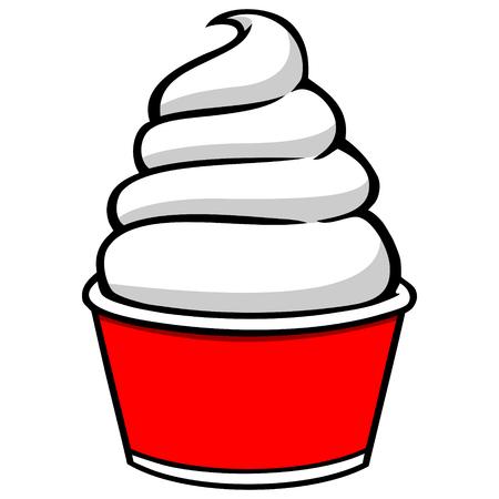Coupe de crème glacée Banque d'images - 57317482