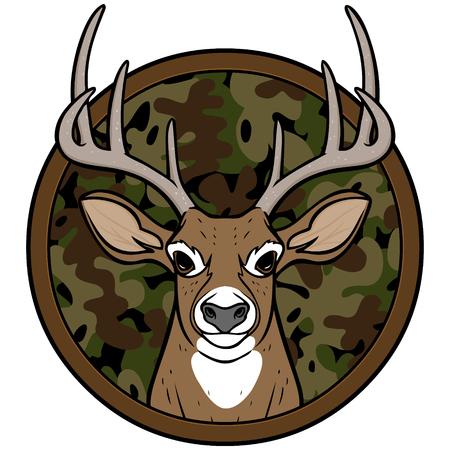 Deer Hunting Insignia Çizim