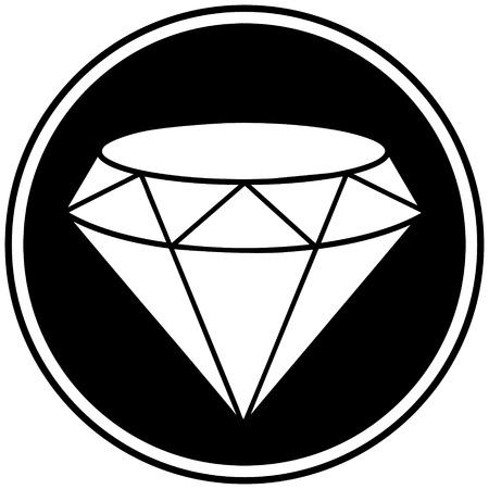 Diamond Symbol Illustration