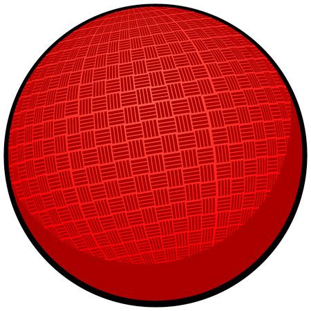 ドッジボール  イラスト・ベクター素材