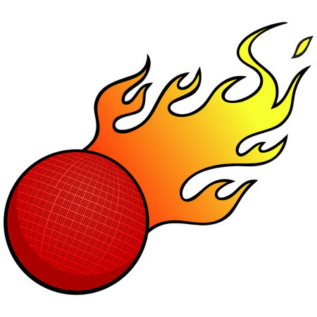 kickball: Dodgeball with Flames