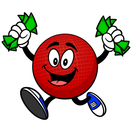 removing: Dodgeball Mascot with Money