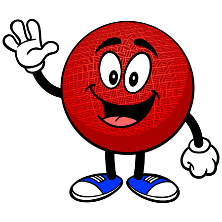 dodge: Dodgeball Mascot Waving