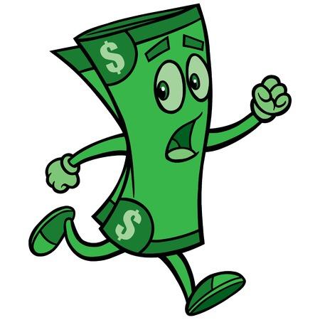 runaway: Dollar Run Illustration