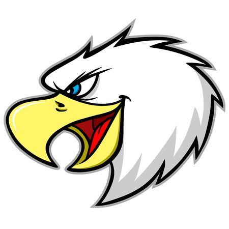 Eagle Mascot Scream