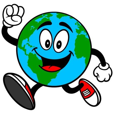 地球マスコット実行