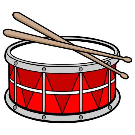 ドラム  イラスト・ベクター素材