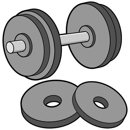 weights: Dumbbell and Weights